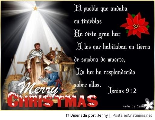 Postales de navidad postales cristianas - Felicitaciones de navidad cristianas ...